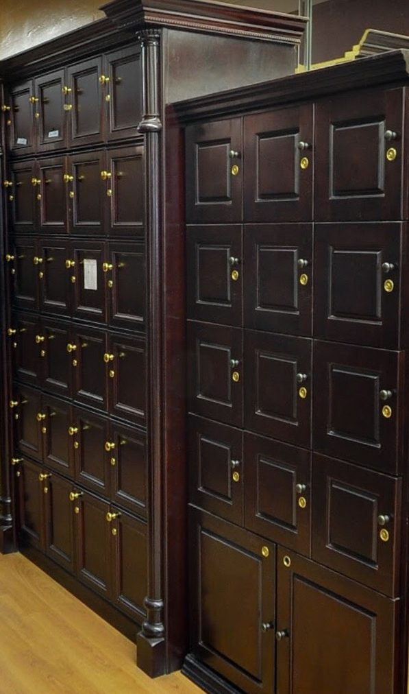 Lockers Available for Rent.